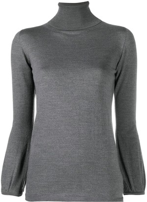Zanone Roll Neck Long-Sleeved Sweater