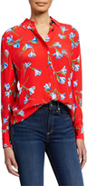 Rag & Bone Anderson Floral Button-Down Shirt