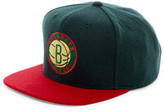 Mitchell & Ness Brooklyn Nets Brushed Holiday Snapback