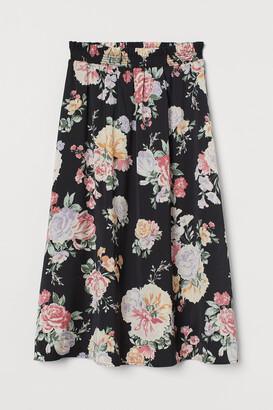 H&M Smock-waisted skirt