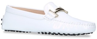 Tod's Leather Gommini Maxi Doppia Driving Shoes