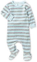 Coccoli Newborn/Infant) Velour Stripe Footie