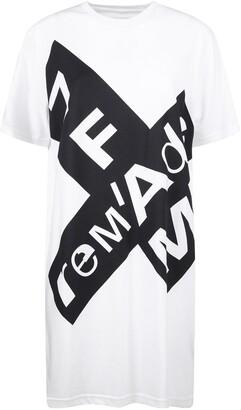 7 For All Mankind Logo Print Maxi T-Shirt