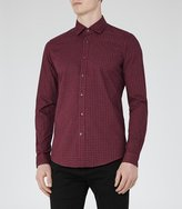 Reiss El Rouge Checked Slim Shirt