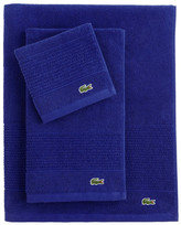 Lacoste Croc Washcloth - Surf Blue