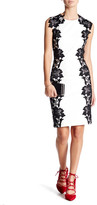 Betsey Johnson Lace Two-Tone Sheath Dress