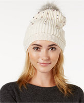 Betsey Johnson B Jeweled Beanie