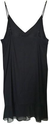 Et Vous Black Cotton Dress for Women Vintage