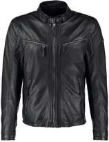 Gipsy Coby Leather Jacket Schwarz