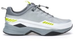 HUGO BOSS Running Inspired Sneakers With Pop Color Accents - White
