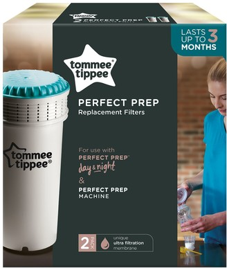 Tommee Tippee Closer To Nature Perfect Prep Replacement Filters, Pack of 2