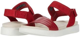 Ecco Flowt Strap Sandal (Lion/Cashmere Cow Leather/Cow Nubuck) Women's Sandals