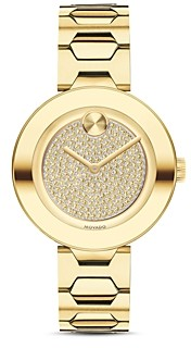 Movado Bold T-Bar Watch, 32mm