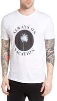 Altru Men's Always On Vacation Graphic T-Shirt