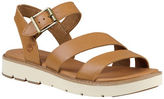 Timberland Baileypark Leather Y-Strap Sandals