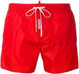 DSQUARED2 classic logo swim shorts
