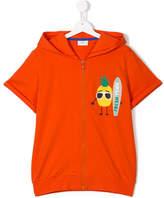 Fendi pineapple skater zip hoodie