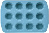 Paula Deen Nonstick Muffin and Cupcake Pan - Gulf Blue Speckle - 12-Cup