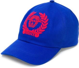 Versace Medusa motif baseball hat