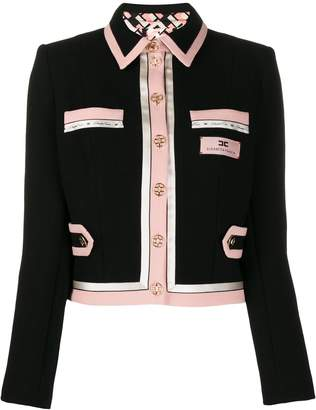 Elisabetta Franchi tailored wool jacket