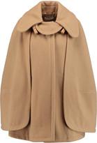 Chloé Wool-blend cape