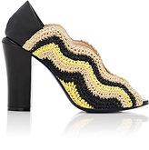 Fendi Women's Chameleon Wave Pumps-Yellow