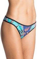 Roxy Women's Polynesia Surfer Print Bikini Bottom