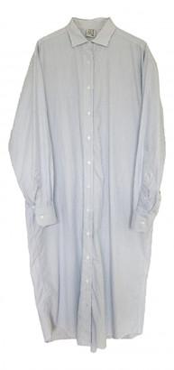 Base Range White Cotton Dresses