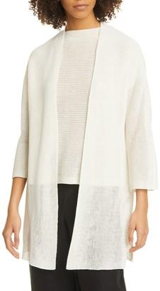 Eileen Fisher Kimono Cotton Cardigan
