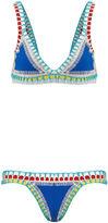 Kiini Blue Crochet Tuesday Bikini