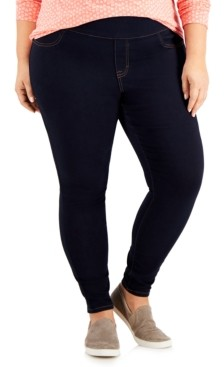 Style&Co. Style & Co Plus Size Wide-Waistband Jeggings, Created for Macy's
