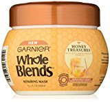 Garnier Whole Blends Repairing Mask Honey Treasures, 10.1 Fluid Ounce