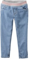 Carter's Baby Girl Pull-On Ribbed Waistband Jeans