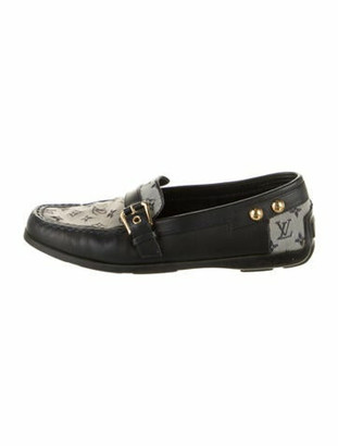 Louis Vuitton Printed Loafers Blue