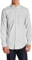 Burnside Solid Long Sleeve Flannel Shirt