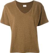 Simon Miller V-neck T-shirt - women - Silk/Cotton - 1