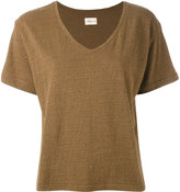Simon Miller V-neck T-shirt - women - Silk/Cotton - 3