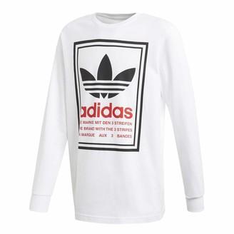 adidas Graphic LS White