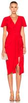Altuzarra Mesilla Dress in Red.