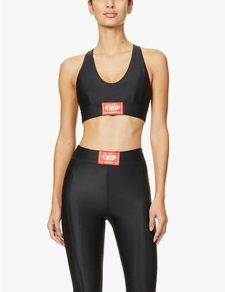 P.E Nation Cross Limits stretch-jersey sports bra