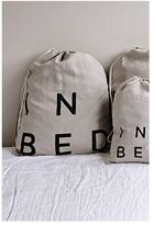 IN BED Linen Duvet Set - Peach