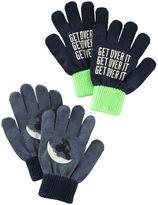 Osh Kosh 2-Pack Glow-In-The-Dark Gloves