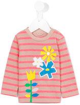 Stella McCartney floral print sweatshirt - kids - Cotton/Polyester - 6 mth