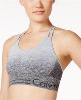 Calvin Klein Dip-Dyed Strappy Low-Support Sports Bra