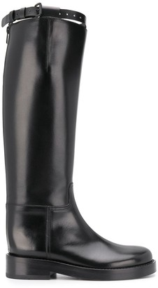 Ann Demeulemeester Knee-Length Riding Style Boots