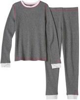 Cuddl Duds Girls 4-16 Thermal Long-Sleeved Tee & Leggings Set