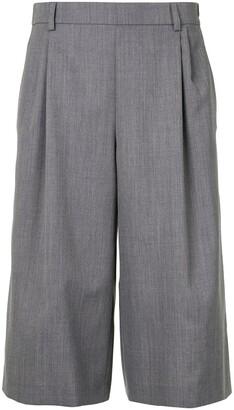 Walk of Shame High-Waisted Knee Length Shorts
