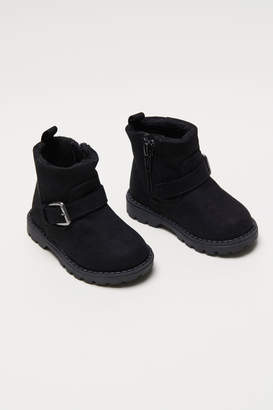 H&M Boots with Buckles