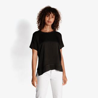Rachel Zoe Ella Sateen Tee Shirt