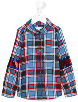 Little Marc Jacobs checked shirt - kids - Polyester - 6 yrs